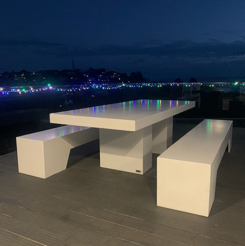 CONCRETE DINING TABLES RECTANGLE (GRC)