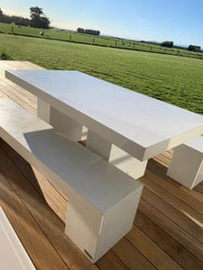 CONCRETE DINING TABLES *** TOP ONLY