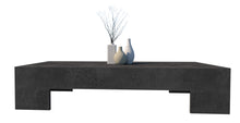 Load image into Gallery viewer, CONCRETE COFFEE TABLE LOW RECTANGLE (GRC) 145cm x 65cm x 30cm HEIGHT