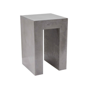 CONCRETE SIDE/END TABLE (GRC) 60cm HEIGHT