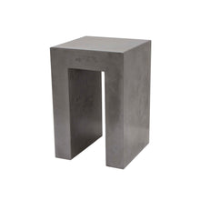 Load image into Gallery viewer, CONCRETE SIDE/END TABLE (GRC) 60cm HEIGHT