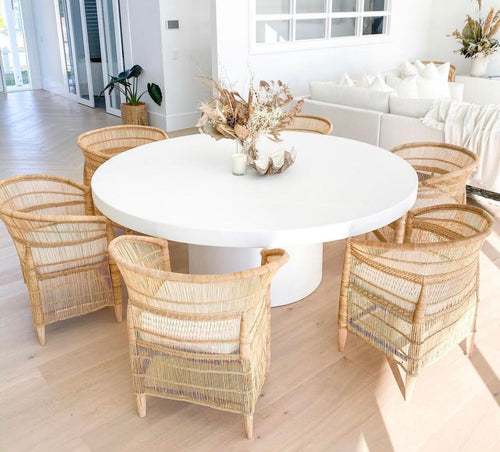 CONCRETE DINING TABLES ROUND (GRC)
