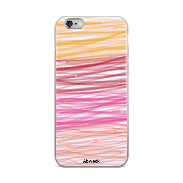 Blurred lines iPhone Case