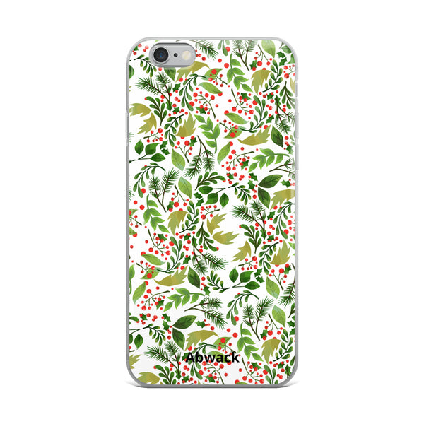 Holly leaf iPhone Case