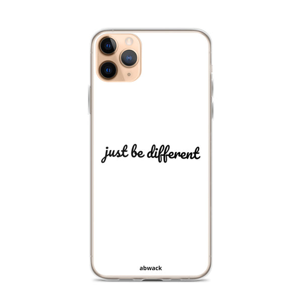 just be different iPhone Case