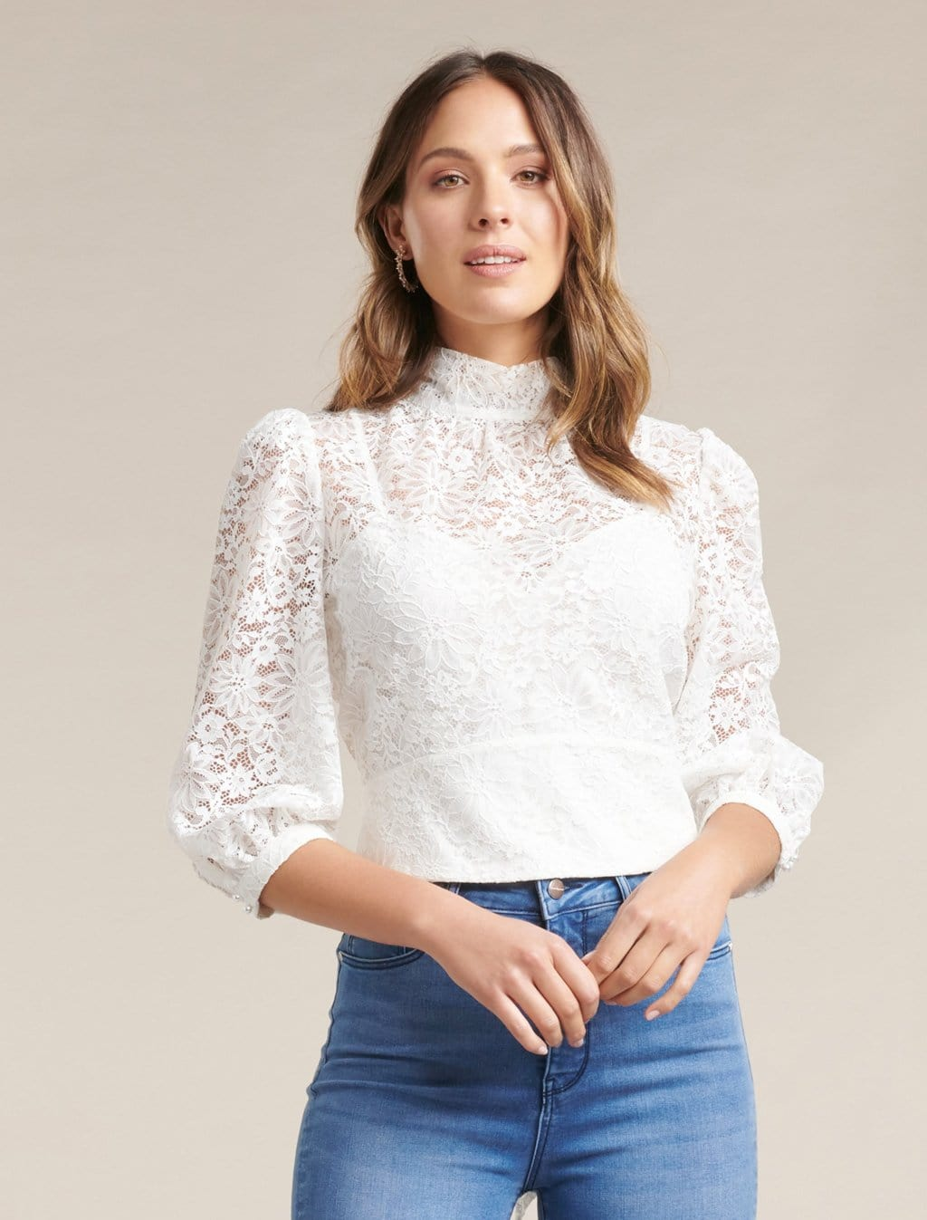 Ever New Iris Lace Blouse