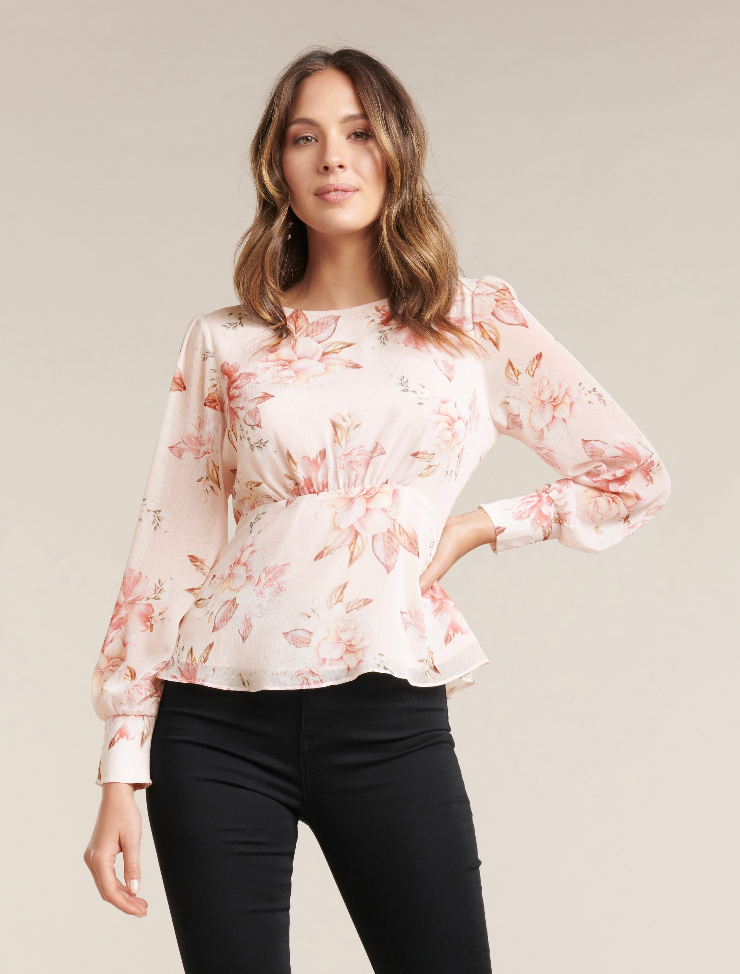 Ever New Rae Long Sleeve Blouse