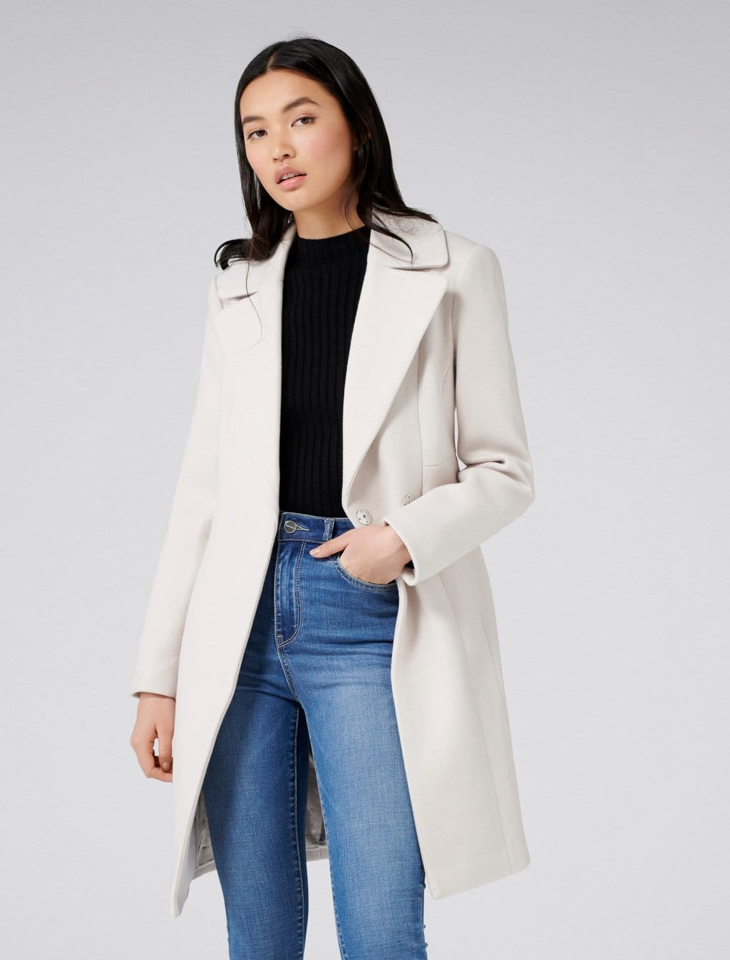 Ever New Ariel Fitted Coat