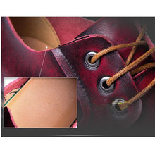 Load image into Gallery viewer, Casual vintage men's shoes leather Martin shoes