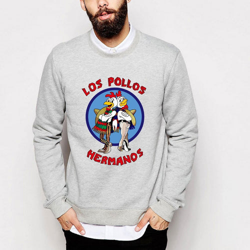 PP long sleeve pullover men's sweatshirt