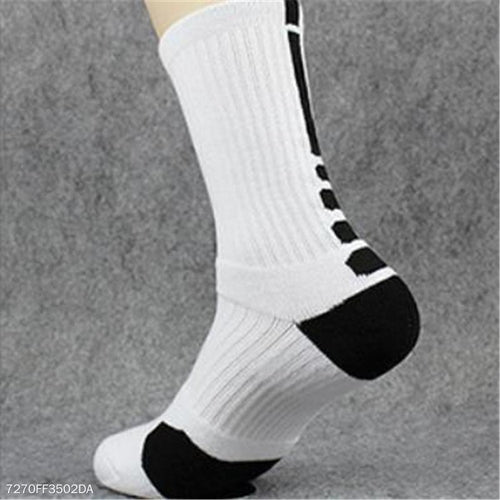 Fashion Soft Sport Thick Bottom High Tube Socks