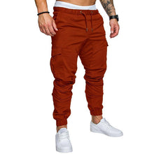Load image into Gallery viewer, Multi-Pocket Solid Color Slacks Pants 10 Colours