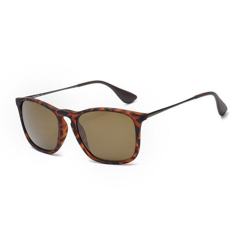 Fashion Classic Square Frames Plain Sunglasses