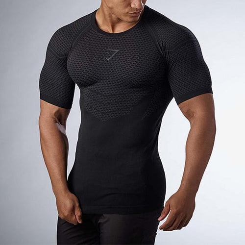 Fitness Fashion Quick-Drying Tight Training T-Shirt