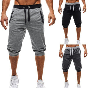 Men's Casual Cropped Shorts