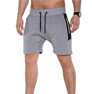 2019 Men's Casual Pocket Zip Shorts