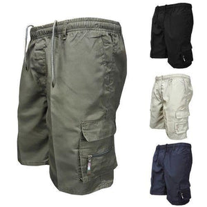 2019 Men Multi Pocket Military Cargo Shorts
