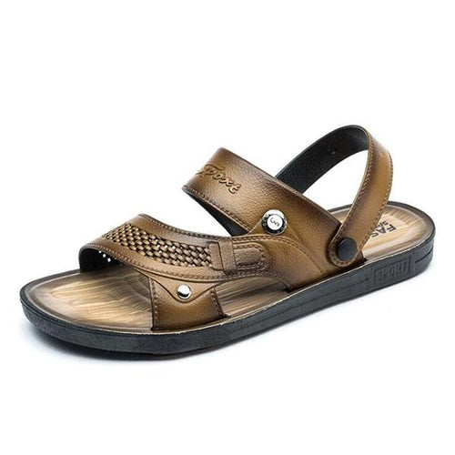 Fashion Men's Sandals Trend Beach Shoes Non-Slip Wear-Resistant Sandals Summer Sandals Slippers