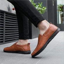 Load image into Gallery viewer, Men's Casual Shoes Handmade  Shoes Business Shoes