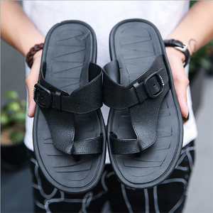 2019 New Non-Slip Outdoor Leather Sandals