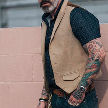 Load image into Gallery viewer, Fashion Single-Breasted Solid Color Vest