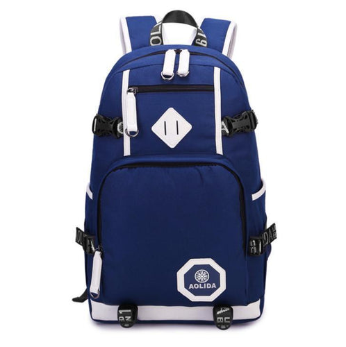 College wind Oxford cloth waterproof travel backpack