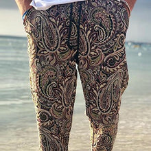 Load image into Gallery viewer, Men's Fashion Printed Elastic Waist Casual Pants