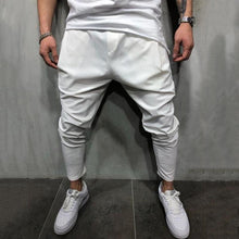 Load image into Gallery viewer, Solid color new men's casual pants