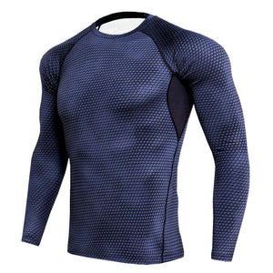 Men's Tight Training PRO Sports Fitness Running Long Sleeve T-Shirts