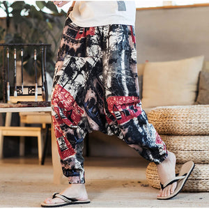 2019 Men's Chinese Style Loose Pants