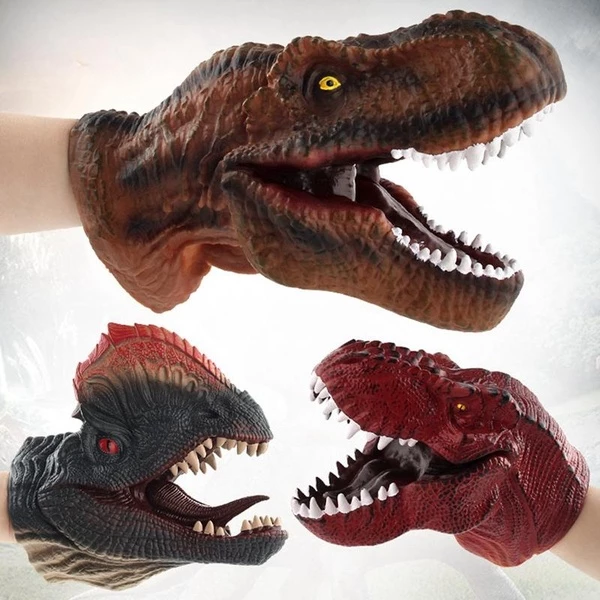 【Hot Sale Now】Vividly Dinosaur Head Gloves Animal Head-Buy Two, Free Shipping!
