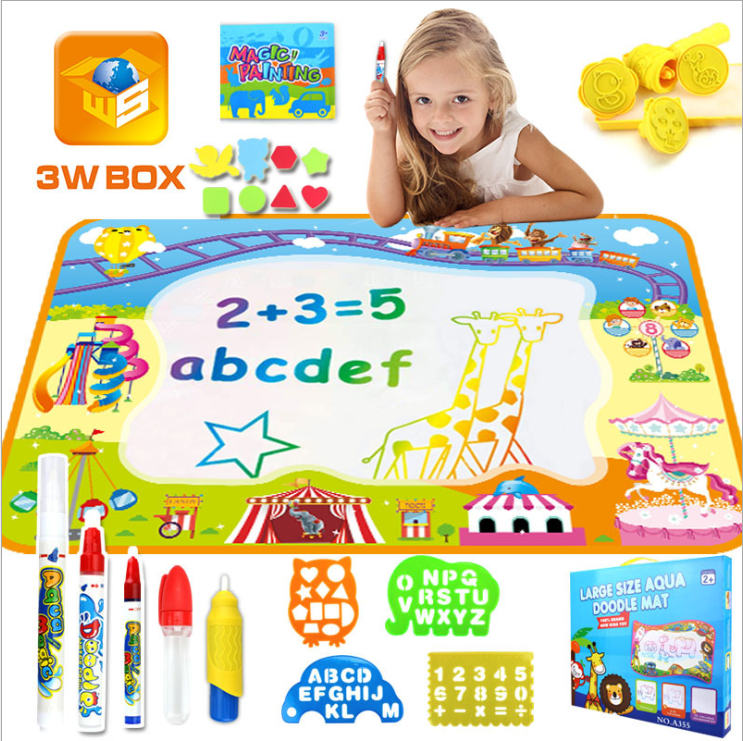 【Hot Sale Now】Kids Painting Writing Doodle Board Toy- Buy Two, Free Shipping