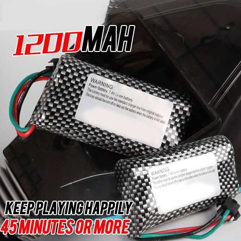 1200MA/7.4V Double-Sided Stunt Car Dedicated battery