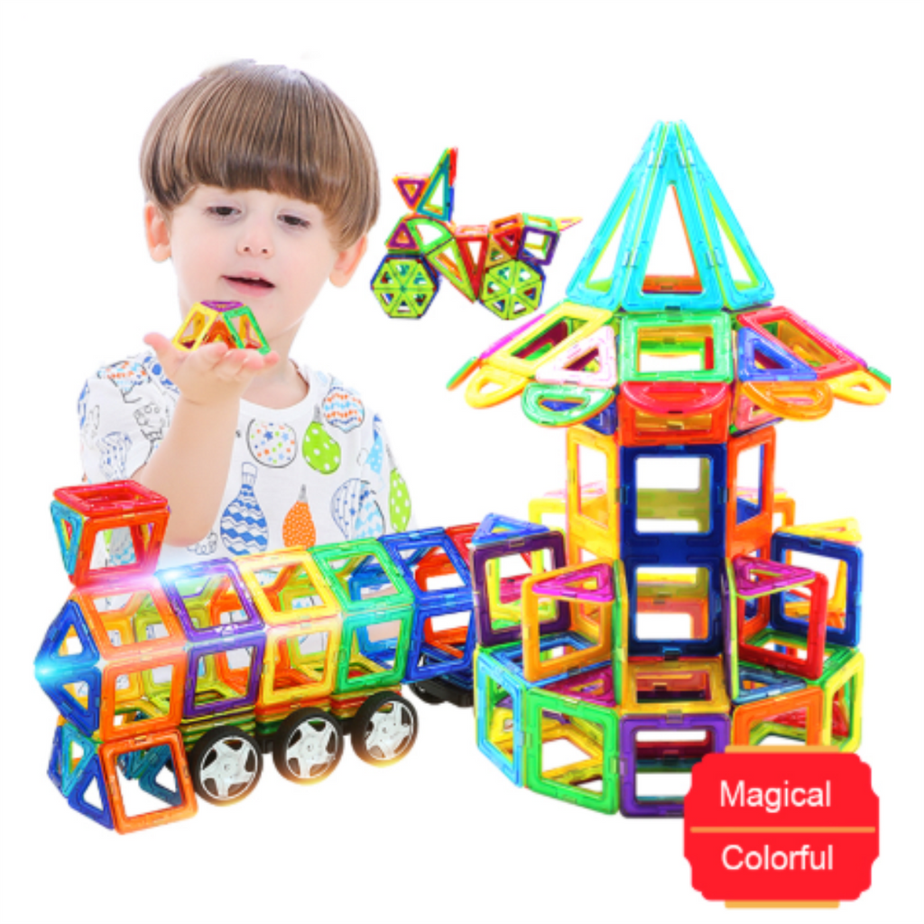【Hot Sale Now】 Magnetic Building Blocks Set -Buy Two Free Shipping!