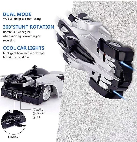 【Hot Sale Now】Wall Climbing RC Car- Buy 2 Free Shipping