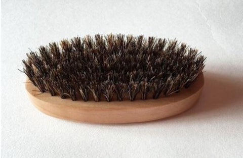 Men's Boar Hair Bristle Beard Mustache Stylling Brush