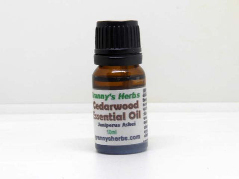 Cedarwood Essential Oil 10 ml, Therapeutic Grade