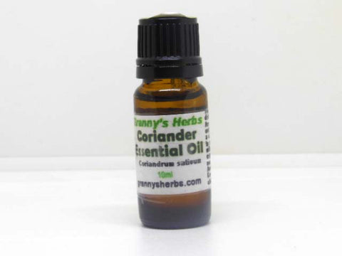 Coriander Essential Oil 10 ml, Therapeutic Grade