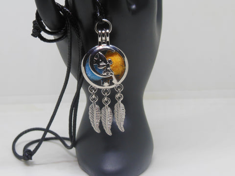 Aromatherapy Diffuser Necklace - Fairy Dream Catcher Locket