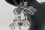 Aromatherapy Diffuser Necklace - Motorcycle Locket