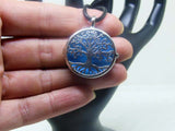 Aromatherapy Diffuser Necklace - Tree of Life Locket