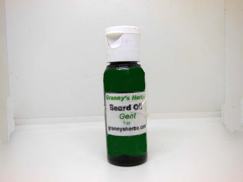 Gents Hair & Beard Oil 1oz