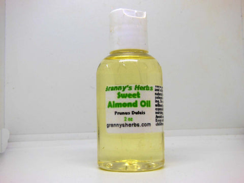 Sweet Almond Oil (Prunus Dulcis) 2oz