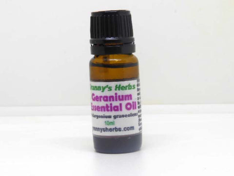 Geranium Essential Oil 10 ml, Therapeutic Grade