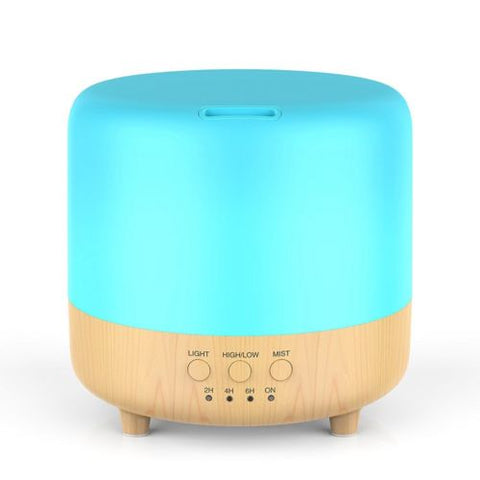 500ml 7 LED Humidifier