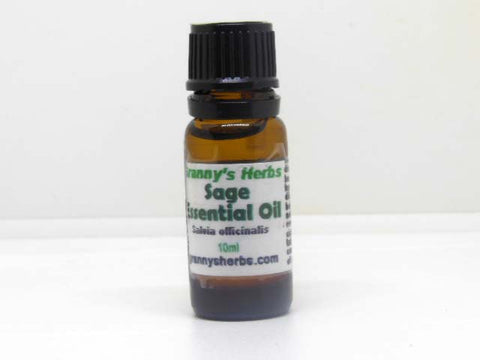 Sage Essential Oil 10 ml, Therapeutic Grade