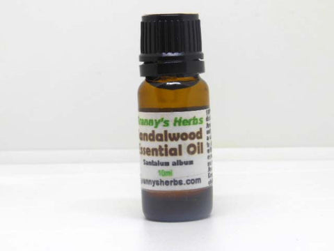 Sandalwood Essential Oil 10 ml, Therapeutic Grade