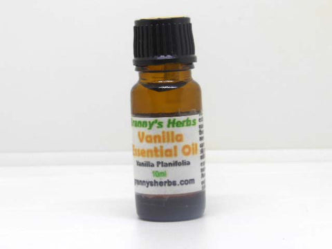 Vanilla Essential Oil 10 ml, Therapeutic Grade