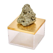 Load image into Gallery viewer, Pyrite Acrylic Box