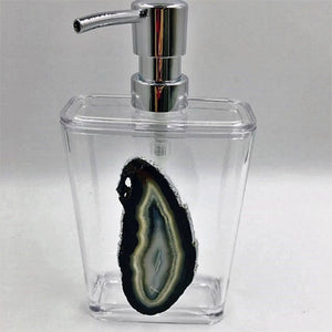 Large Agate Soap Dispenser